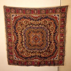 Scarf ,Colorful Beautiful 100% Silk European 27x27